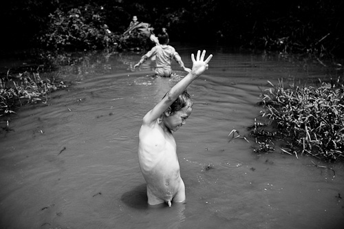 Swimming in Vietnam -1