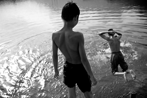 Swimming in Vietnam -2