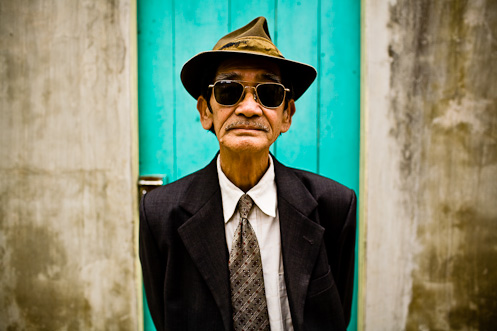 Vietnamese Man in Hanoi, Vietnam