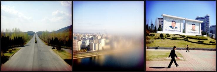 Travel photographs from North Korea.