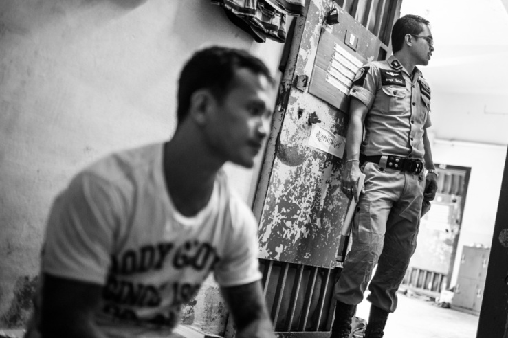 Documentary Photography Thailand Prison Boxing 04
