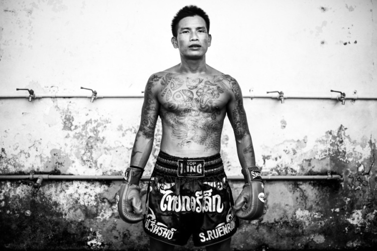 Documentary Photography Thailand Prison Boxing 05