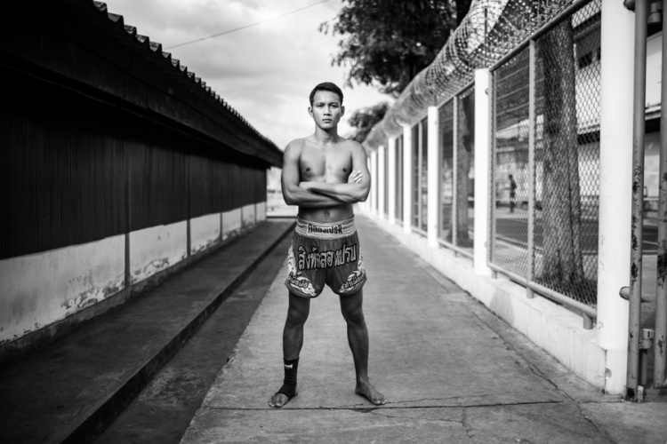 Documentary Photography Thailand Prison Boxing 09