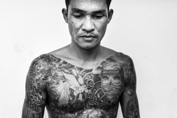 Documentary Photography Thailand Prison Boxing 13
