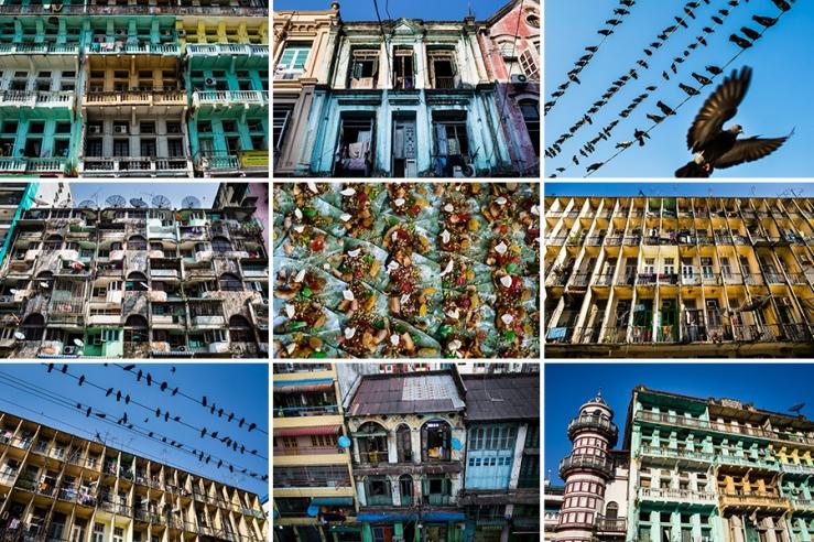 Yangon in Rising Color