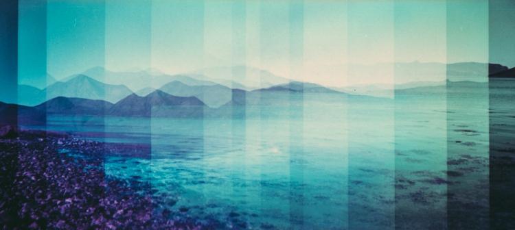 Landscape in Blue-1