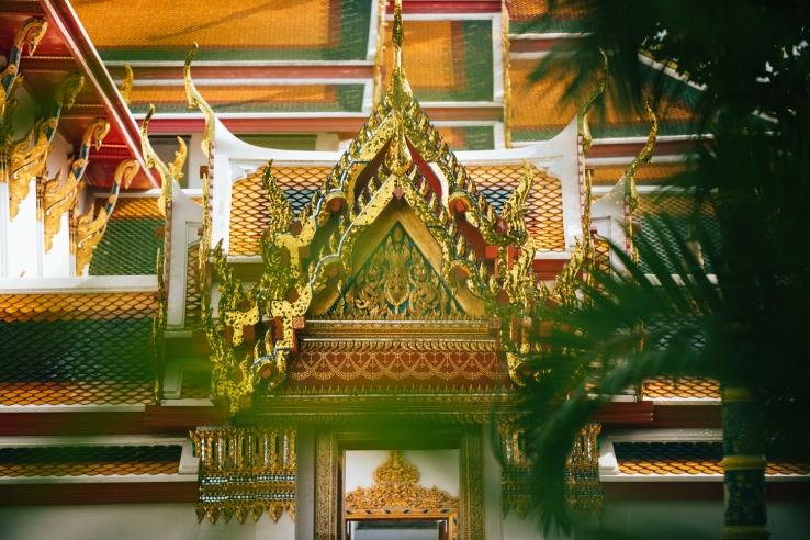 Wat Pho in Bangkok, Thailand.