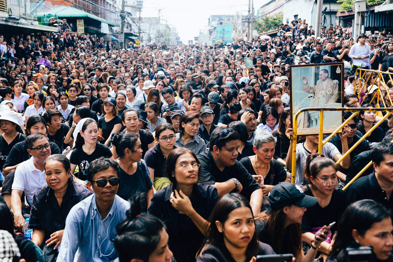 Thailand Mourns The Death Of King Bhumibol